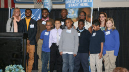 Kids from the 2014 Great Futures Recognition Luncheon are pictured. Photo provided.