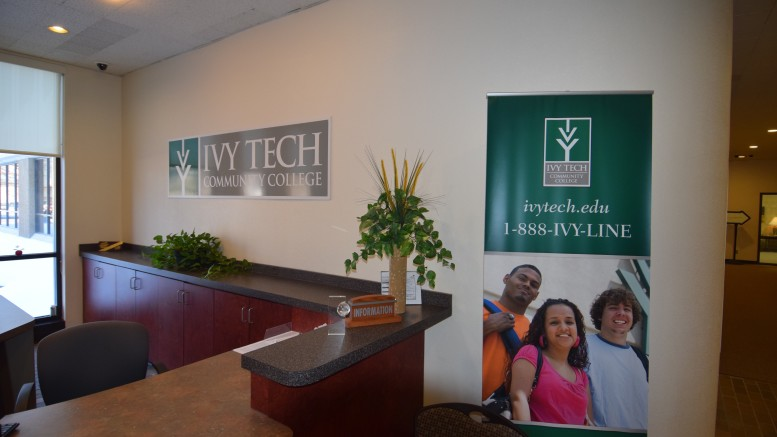 Ivy Tech Lobby at 345 S. High Street, Muncie, IN