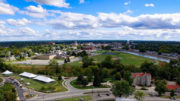 Aerial photo of Muncie by: Michael Wolfe