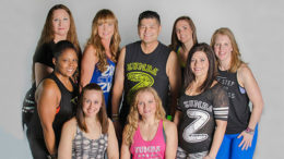 Featured local fitness instructors of Muncie FitCon. Photo by: T.H.E. Photography