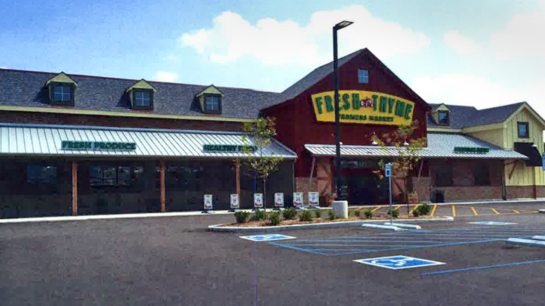 Fresh Thyme Farmer's Market to open on McGalliard Road. Photo provided.