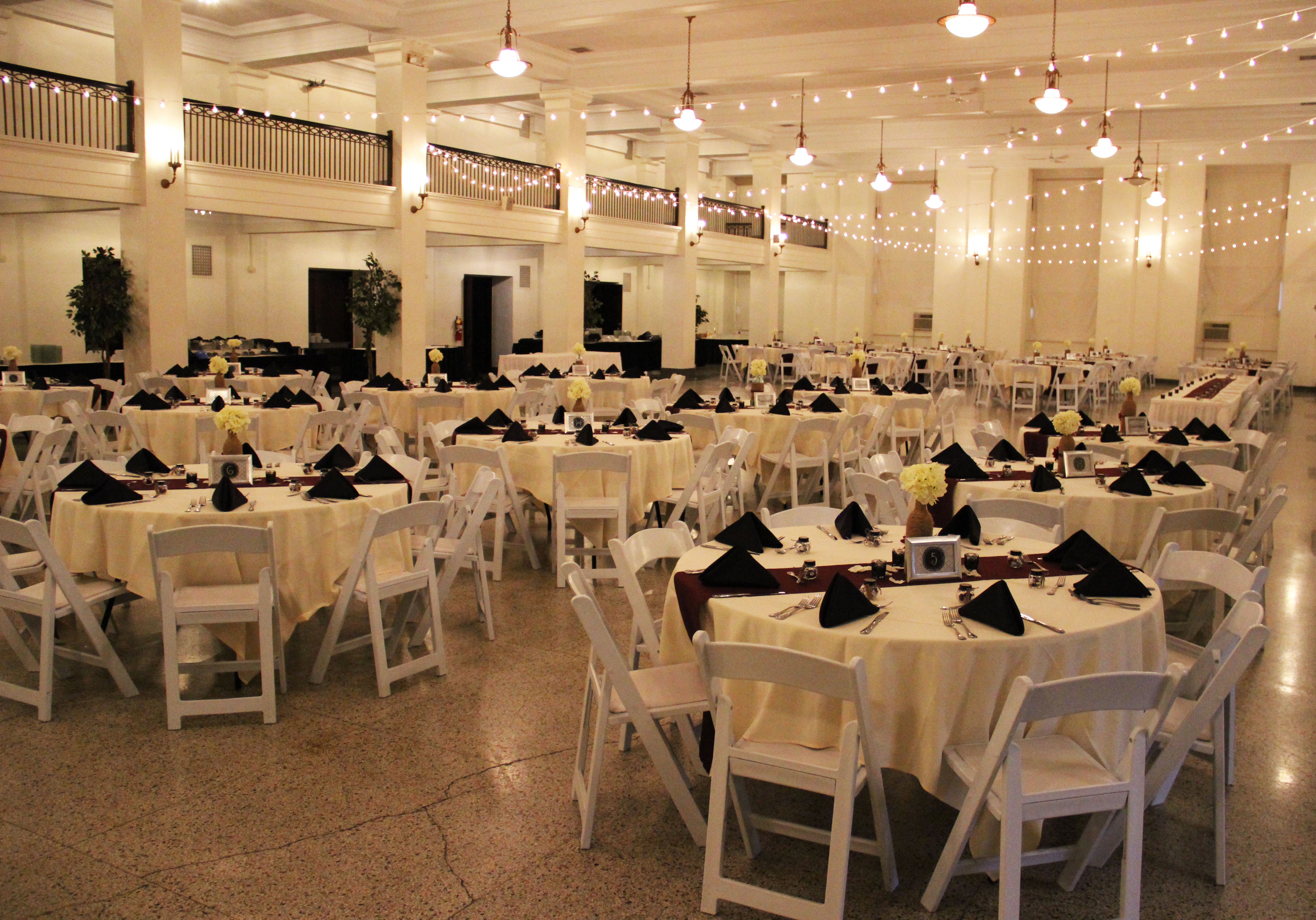 The Colonnade Room. Photo by: Chelsea Scofield