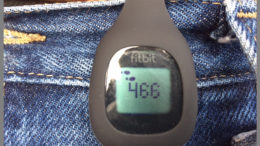 A Fitbit Zip accurately tracks your exercise, no matter how little you do. Photo by: Nancy Carlson
