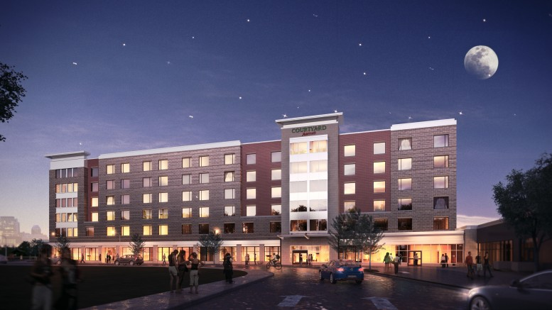 Arc Of Indiana Thanks Muncie Community For Teaching Hotel Original Artist Rendering
