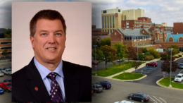 Dr. Peter Voss named medical director of surgical specialties for IU Health Ball Memorial Physicians. Photo provided.