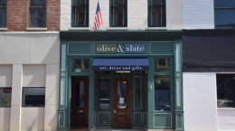 Olive & Slate storefront at 304 S. Walnut Street. Opening April 14th. Photo by: Mike Rhodes