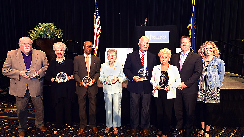V!VA Winners from today's awards presentation held at the Horizon Convention Center. Photo by: Mike Rhodes