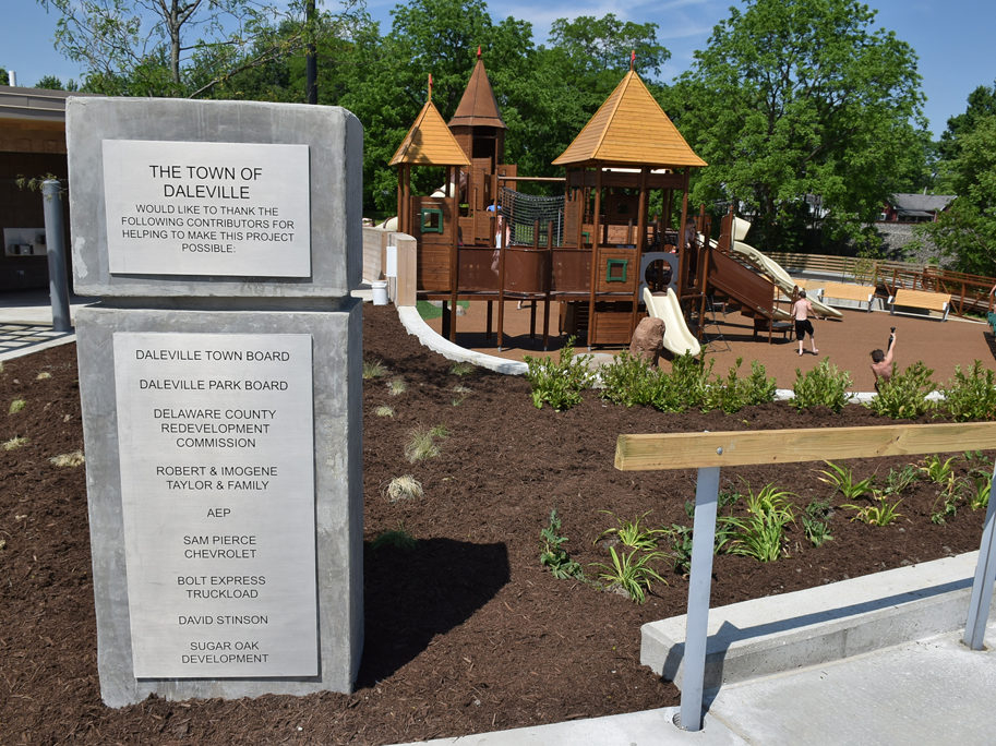 Daleville Town Hall Park and Splash Pad. Daleville Town Hall Park Now Open to Public