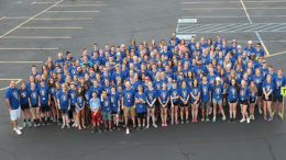 Students who participated in SERVE week in the past are pictured. Photo courtesy of Union Chapel.