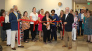 Ribbon cutting for the new Toni R. Estep Welcome Center. Photo provided.