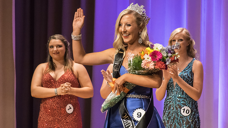 Lexie Manor, 2017 Delaware County Fair Queen. Photo by: Mike Rhodes