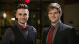 Pictured (L-R) Nick Rieth and Patrick Rieth. Photo provided.
