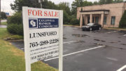 A commercial property up for sale in Muncie.