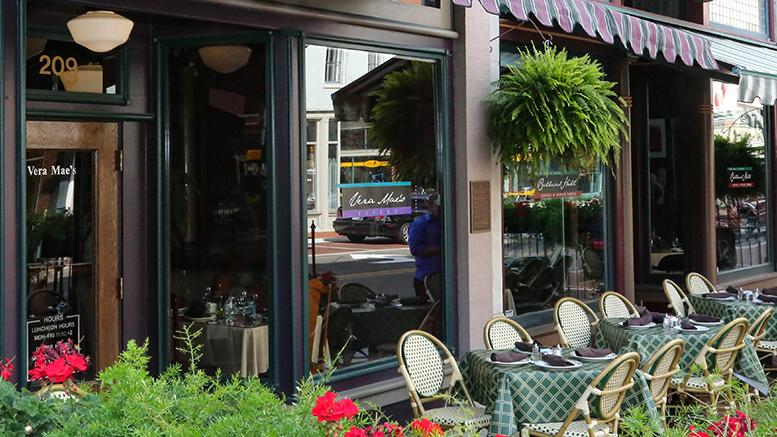Vera Mae S Bistro In Downtown Muncie Photo By Lorri Mar
