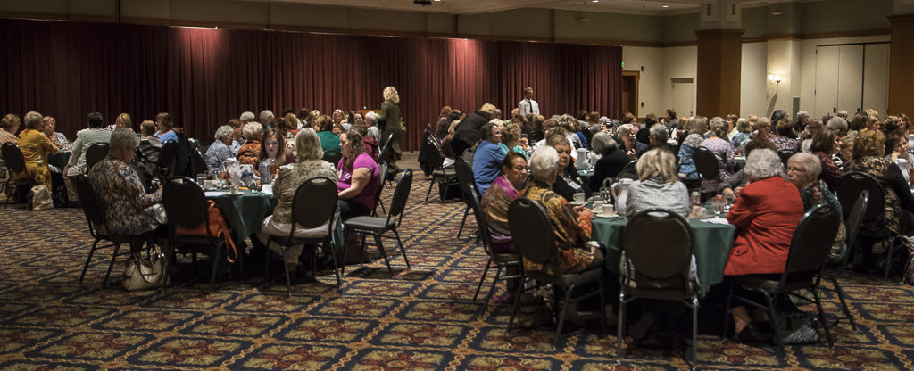 Delta Theta Tau luncheon. Photo by: Mike Rhodes