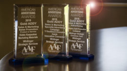 Awards from Whitinger Strategic Services are pictured. Photo by: Mike Rhodes