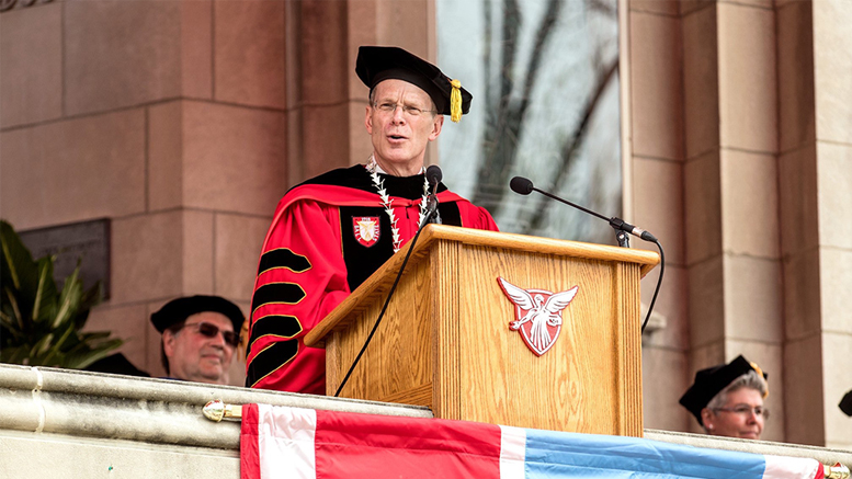 Ball State University President Geoffrey S. Mearns. Photo provided.