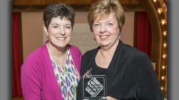 Pictured L-R: Kelly Shrock and Jeannine Harrold. Photo provided.