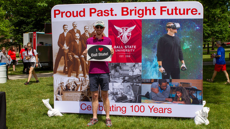 Photo taken during the Centennial Birthday Celebration on campus on June 15th. Photo provided.