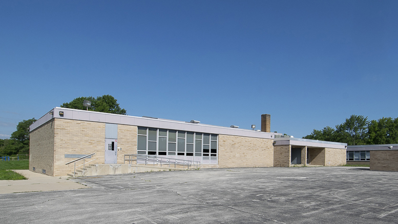 The back of Storer Elementary. The parking lot will also be removed. Photo by: Mike Rhodes