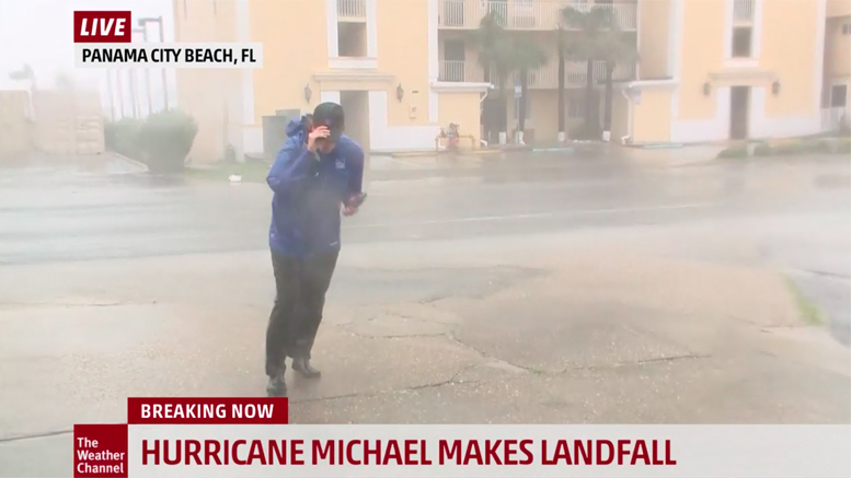 Screenshot Courtesy of the Weather Channel.