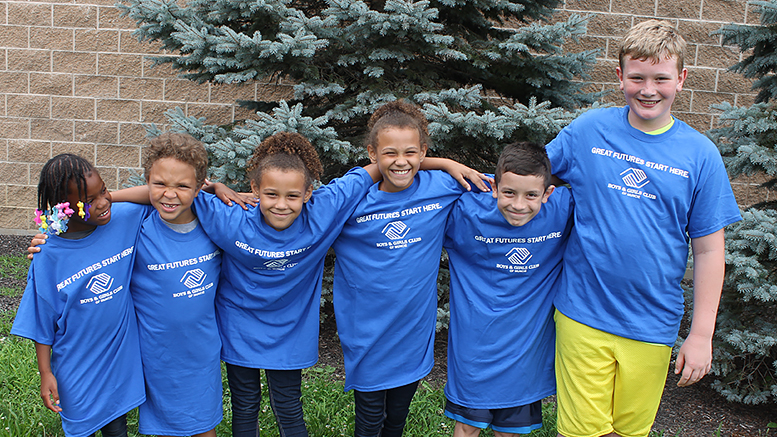 Boys & Girls Club kids. Photo provided