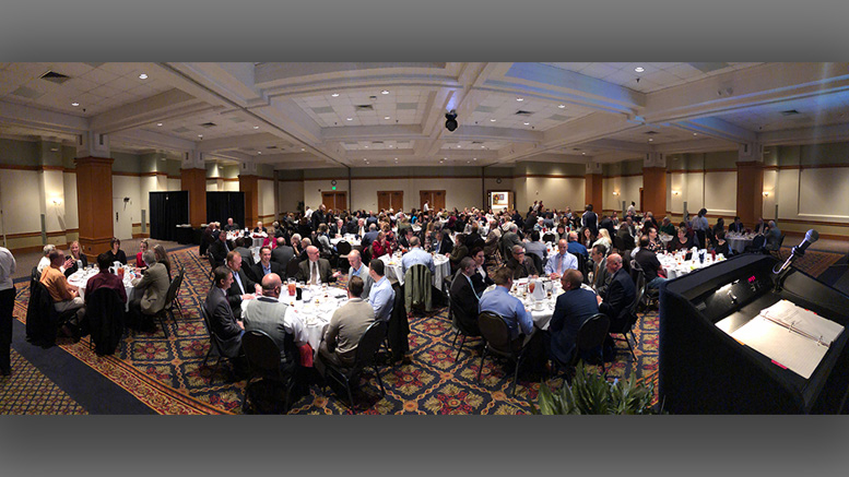 """Chamber Champions Award Luncheon"" at Horizon Convention Center. Photo provided"