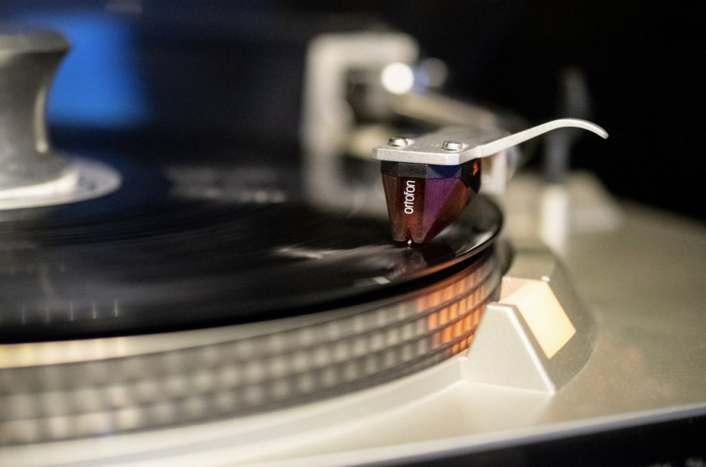 The author's Technics turntable and Ortophon cartridge. Photo by: Mike Rhodes