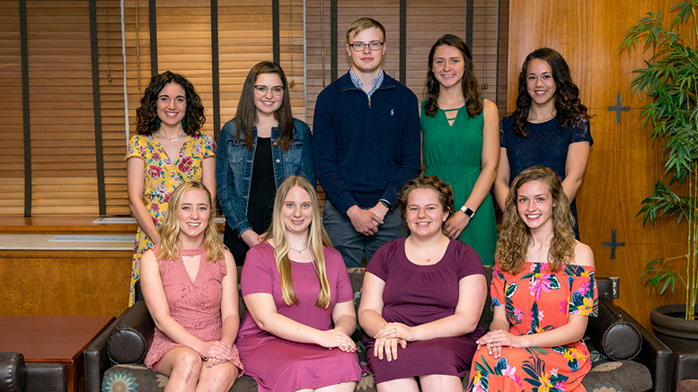 Oliver W. Storer Scholarship Recipients. Photo provided