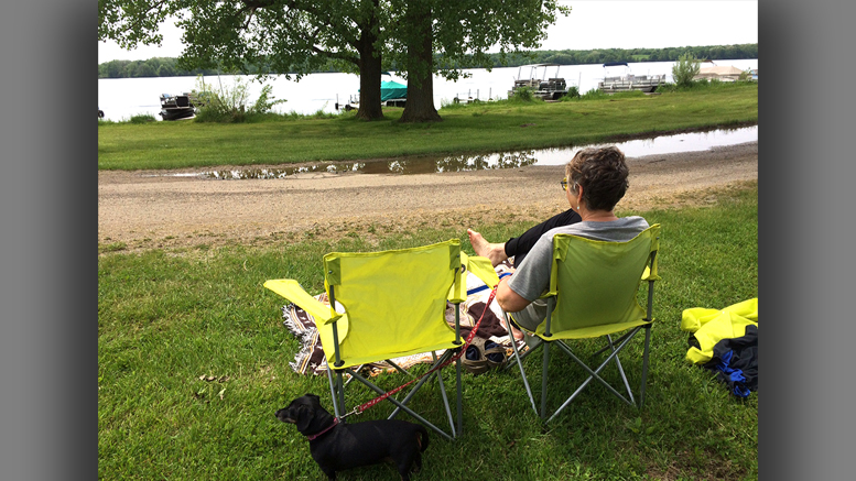 Our place out at the lake features a bunch of fresh air. Photo by: John Carlson