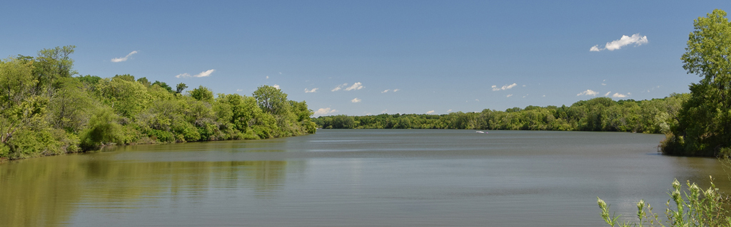 Prairie Creek Reservoir looking North.