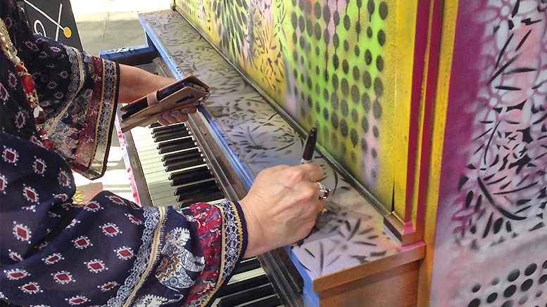 Playable STEAM-Themed Street Pianos To Be On Display Throughout