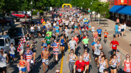 """Four for the Fourth"" is an annual race in Yorktown, Indiana, that is helping to build community and relationships with people throughout Mt. Pleasant Township, fund trails and pathways to connect neighborhoods, and promote healthy living and active lifestyles. Photo provided"