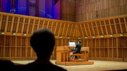 The Goulding & Wood organ in Sursa Performance Hall. Photo provided