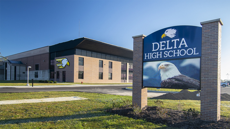 Delta High School. Photo by: Mike Rhodes
