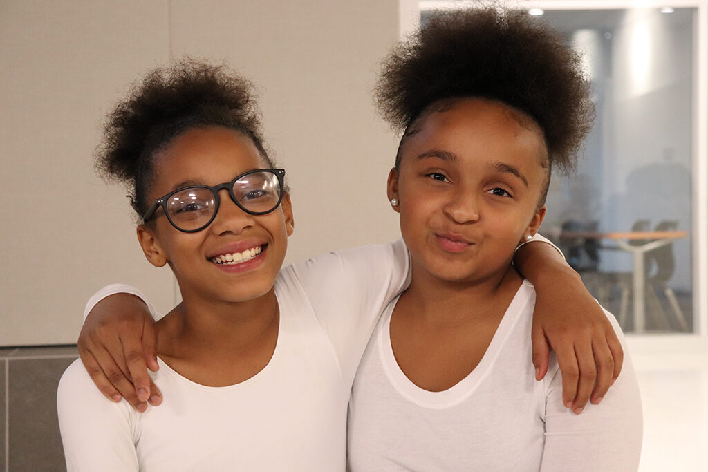 Members of the Boys & Girls Club Dance Team, Kadence and Jayla, performed a dance to the soundtrack from the movie Leap at the 4th annual Just Dessert Fundraiser on October 3, 2019. Photo provided