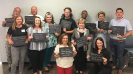 """Loaned Executives who are telling the United Way story to others."" Photo provided"