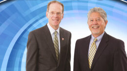 Geoff Mearns, Co-Chair & Jeff Bird, Co-Chair of Next Muncie. Photo courtesy of Alliance Magazine