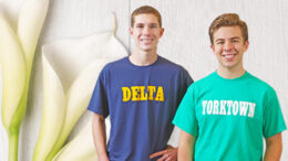 Zachary Stanley of Delta High School (left) and Thomas Wilhoite of Yorktown High School (right) are recipients of the 2020 Lilly Endowment Community Scholarship. Photo provided