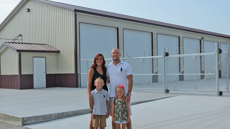Family First Indoor RV and Boat Storage, the Shaffers'  new, built-from-the-ground-up business in Albany. Photo provided