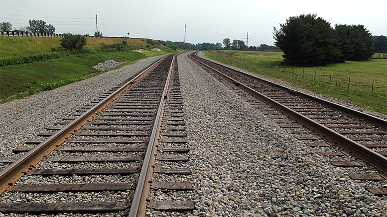 Companies will truck their products and materials to this rail spur for loading onto trains. Likewise, materials needed for those companies will come via train to the rail spur to be loaded onto trucks for local delivery. Photo provided